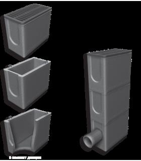 Зливоприймальник та комплектуючі