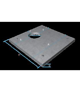 Плита перекриття квадратна